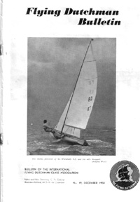 1958 Flying Dutchman Bulletin