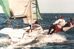 Flat out sailing