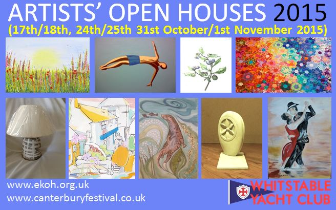 Artists' Open Houses 2015 at Whitstable Yacht Club