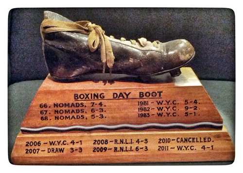 Boxing Day Boot trophy