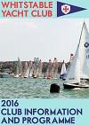 2016 Sailing Schedule