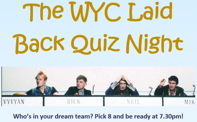 Laid Back Quiz Night at WYC