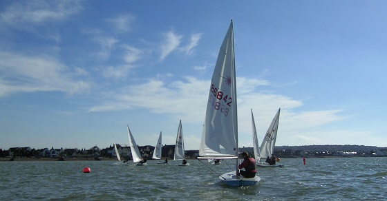Pre-season sail at WYC