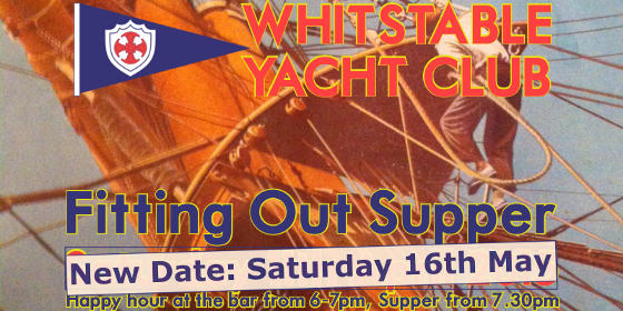 Fitting Out Supper - 16th May