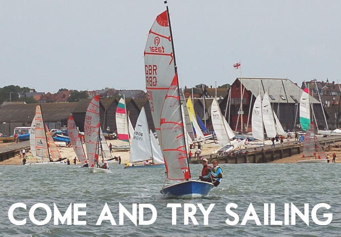 Family Fun Day at Whitstable Yacht Club - <s>Saturday May 30th 2020</s>. Come and try sailing!