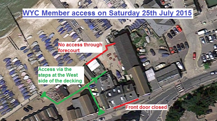 map of access