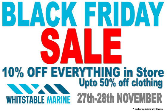 Whitstable Marine Black Friday Sale