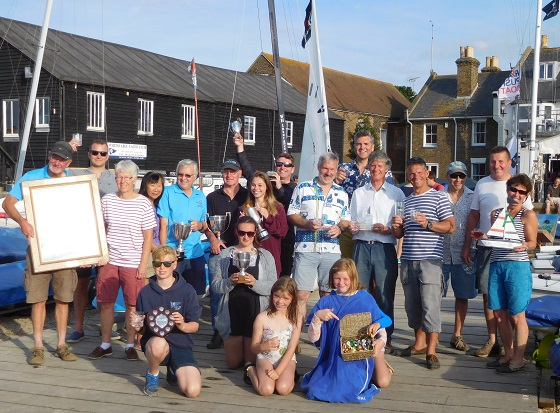 Whitstable Week Prize Winners